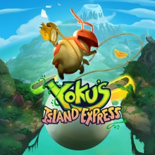 Box art for the game Yoku's Island Express