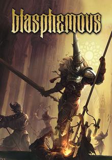 Box art for the game Blasphemous