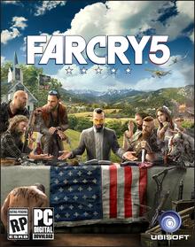 Capa do jogo Far Cry 5