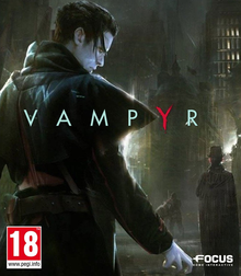 Box art for the game Vampyr