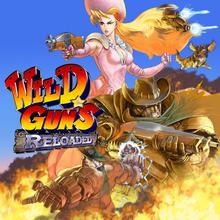 Box art for the game Wild Guns Reloaded