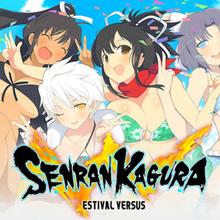 Box art for the game Senran Kagura: Estival Versus