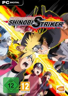 Box art for the game Naruto to Boruto: Shinobi Striker
