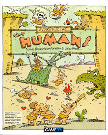 Box art for the game The Humans