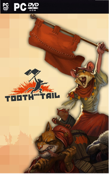 Box art for the game Tooth and Tail