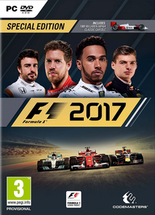 Box art for the game F1 2017
