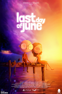 Box art for the game Last Day of June