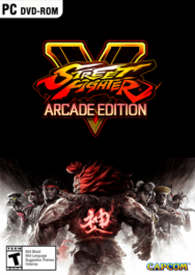 Box art for the game Street Fighter V: Arcade Edition