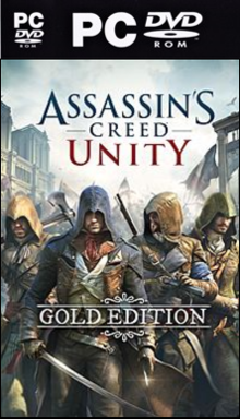 Box art for the game Assassin's Creed Unity Gold Edition