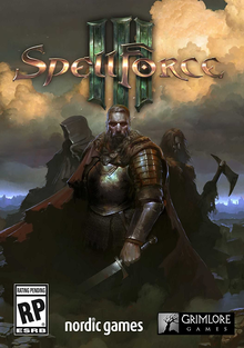 Box art for the game SpellForce III