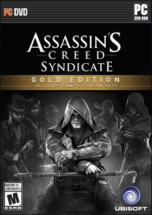 Box art for the game Assassin's Creed Syndicate Gold Edition