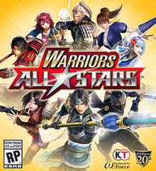 Box art for the game Warriors All-Stars