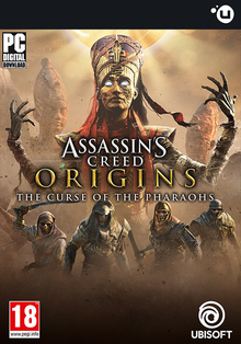 Box art for the game Assassin's Creed Origins: The Curse of the Pharaohs