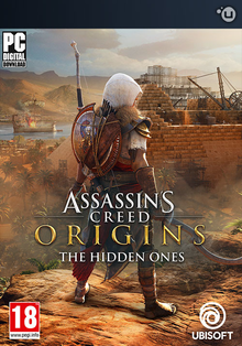 Box art for the game Assassin's Creed Origins: The Hidden Ones