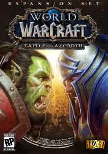 Capa do jogo World of Warcraft: Battle for Azeroth