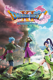 Capa do jogo Dragon Quest XI: Echoes of an Elusive Age