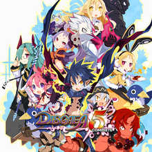Box art for the game Disgaea 5 Complete
