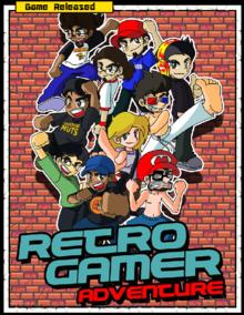Box art for the game Retro Gamer Adventure