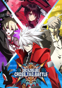 Box art for the game BlazBlue: Cross Tag Battle