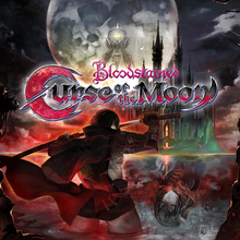 Capa do jogo Bloodstained: Curse of the Moon