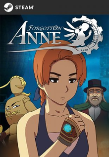 Box art for the game Forgotton Anne
