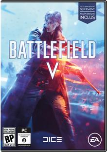 Box art for the game Battlefield V