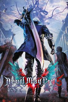 Capa do jogo Devil may Cry 5