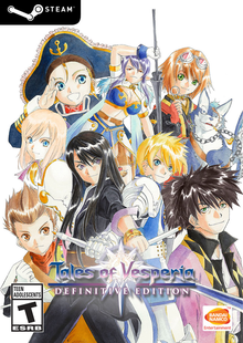 Box art for the game Tales of Vesperia: Definitive Edition