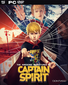 Box art for the game The Awesome Adventures of Captain Spirit