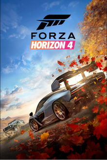Box art for the game Forza Horizon 4