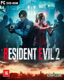 Capa do jogo Resident Evil 2 Remake