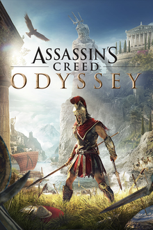 Capa do jogo Assassin's Creed Odyssey