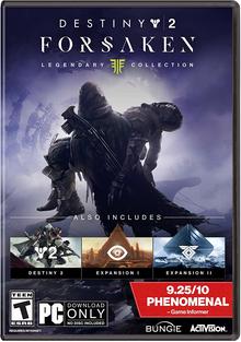 Box art for the game Destiny 2: Forsaken