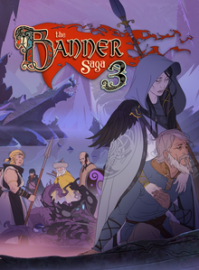 Box art for the game The Banner Saga 3