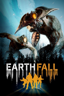 Box art for the game Earthfall