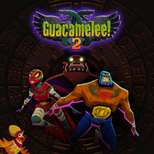 Box art for the game Guacamelee! 2