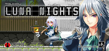 Capa do jogo Touhou Luna Nights