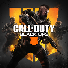 Box art for the game Call of Duty: Black Ops 4