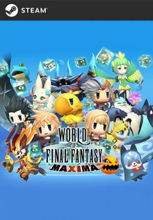 Box art for the game World of Final Fantasy Maxima
