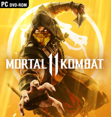 Box art for the game Mortal Kombat 11