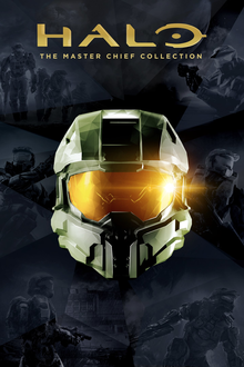 Box art for the game Halo: The Master Chief Collection