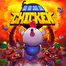 Box art for the game Bomb Chicken