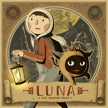 Box art for the game LUNA The Shadow Dust