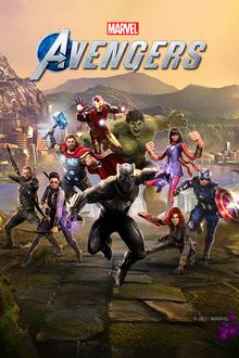Box art for the game Marvel's Avengers