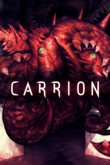 Box art for the game Carrion