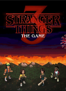Box art for the game Stranger Things 3: The Game