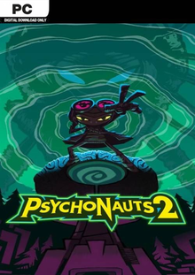Box art for the game Psychonauts 2