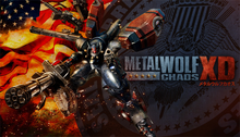 Box art for the game Metal Wolf Chaos XD