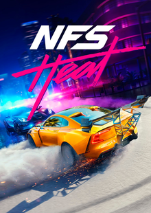 Box art for the game Need for Speed Heat