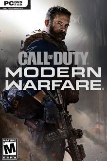 Box art for the game  Call of Duty: Modern Warfare